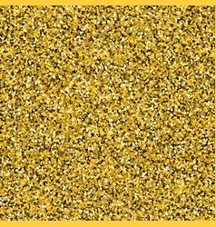 gold confetti background seamless vector image vector image