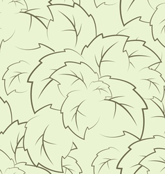 seamless texture of the foliage vector image