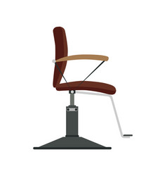 barber chair shop barbershop salon hair vector image