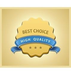 Best choice seal vector