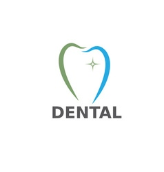 Dental care design template vector