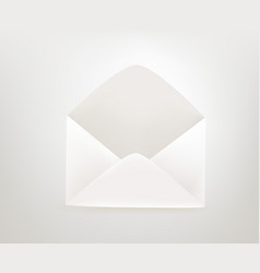 Envelope icon 3d comic style editable vector