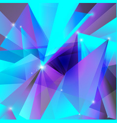 Geometric background violet turquoise vector