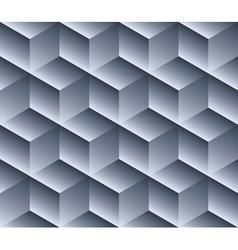 Geometric volumetric cube pattern vector