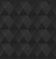 Monochrome triangle seamless pattern vector