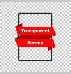 Tablet mockup isolated screen tablet transparent vector