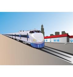 Train illustration vector