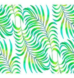 Palm Leaf pattern2 vector image vector image
