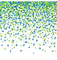 confetti background horizontally seamless vector image vector image