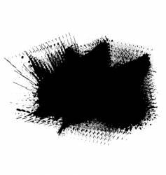ink splat vector image vector image