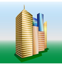 Buildings Cityscape vector image