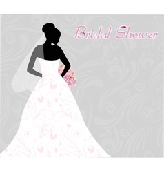 bridal shower vector image
