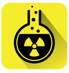 chemical test tube icon vector image