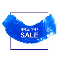 grunge colorful discount and sale label vector image