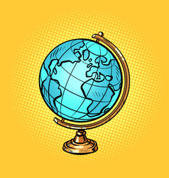 school globe planet earth vector image