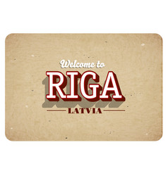 Welcome to riga vector