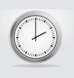 analog wall clock vector image vector image