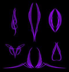 pinstripe-041 vector image