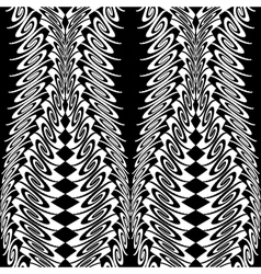 Design seamless vertical decorative pattern vector image vector image