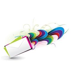 e-mail concept design vector image