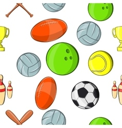 Accessories for training pattern cartoon style vector