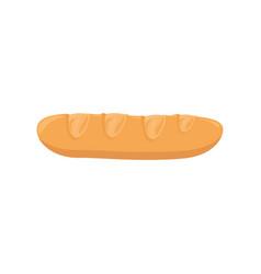 baguette bread icon vector image
