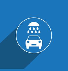 Car wash icon sign icon wash symbol flat vector