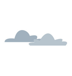 Cloud climate weather sky icon vector
