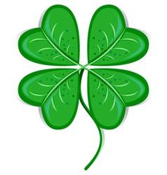 clover leaf vector image