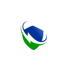 energy electrical logo vector image