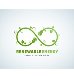 Renewable Energy Abstract Logo Template vector