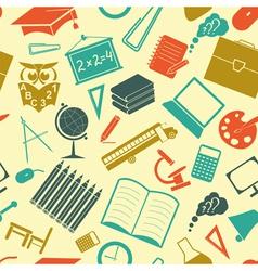 School background Seamless vector