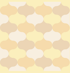 Seamless pattern moroccan theme vector
