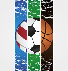 3ball vector image