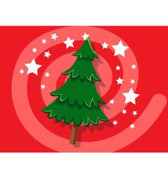 Christmas Tree icon christmas vector image