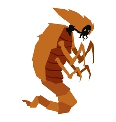 Aliens monster vector image
