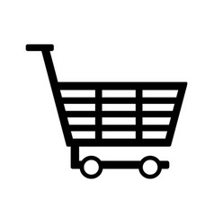 cart icon vector image