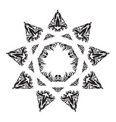 eastern logo vector image