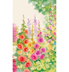 Foral decorative background vector
