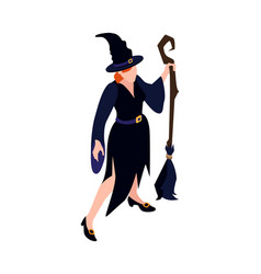 halloween costume isometric vector image