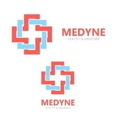 medical logo or icon vector image vector image