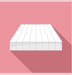 medical mattress icon flat style vector image