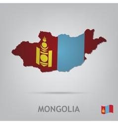 mongolia vector image