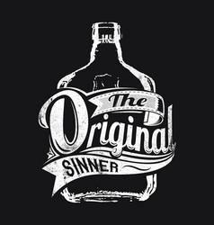 original sinner vector image