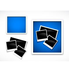 photos frames vector image