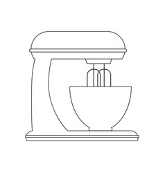 Stand mixer vector