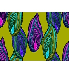 Agate green pattern vector