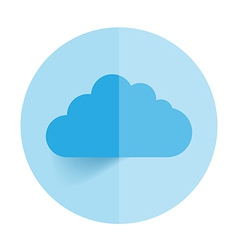 This image is a representing a cloud vector image