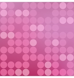 beautiful abstract pink background vector image vector image