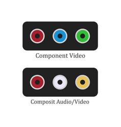 Component composit vector